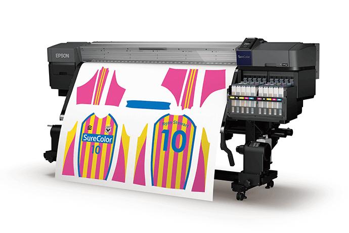 EPSON SureColor SC-F9430H 64吋熱昇華螢光紡織輸出機