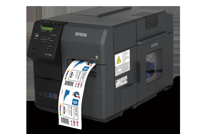 TM-C7510/TM-C7510G工業級高速彩色噴墨標籤印表機