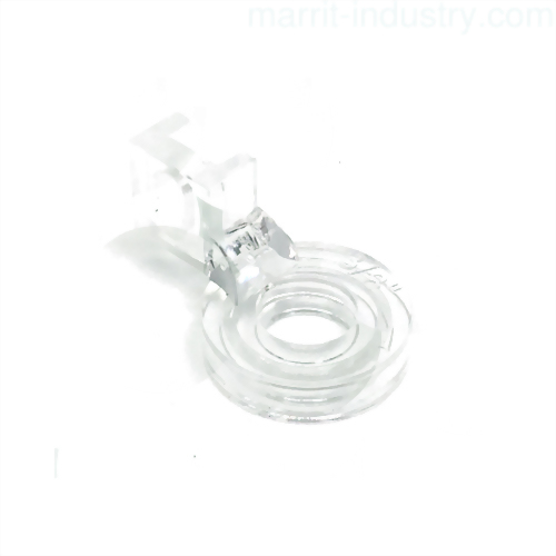 "Echo foot, clear plastic 3/8"", MA-ECHO-3/8"