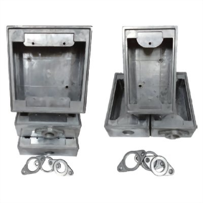 鋁製接線盒-單聯/雙聯