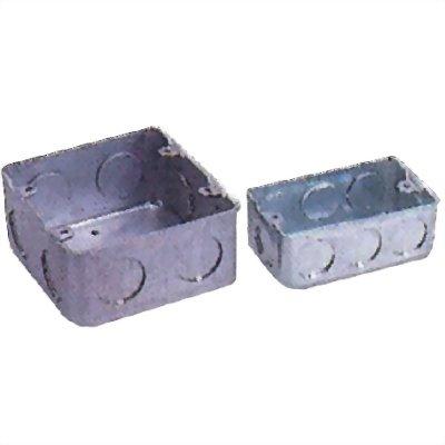 鐵製接線盒-單聯/雙聯