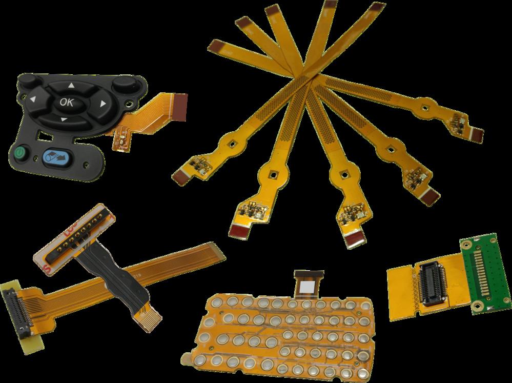 SMT零件與軟性印刷電路板