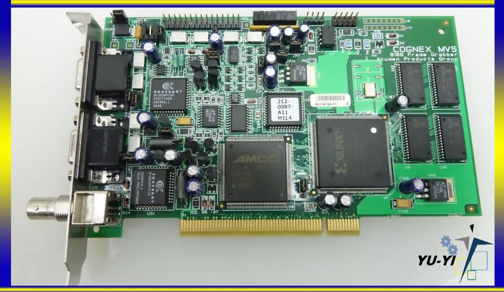 COGNEX MVS 8100 USED FRAME GRABBER VPM-8100Q-000 REVA OPT A PCB-I-E-227