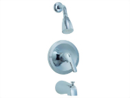 Single Handle Tub & Shower Set Faucet