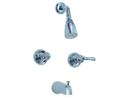 Two Handle Tub & Shower Set Faucet