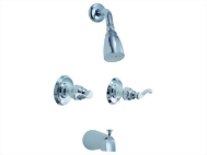 Two Handle Tub & Shower Set Faucet Series