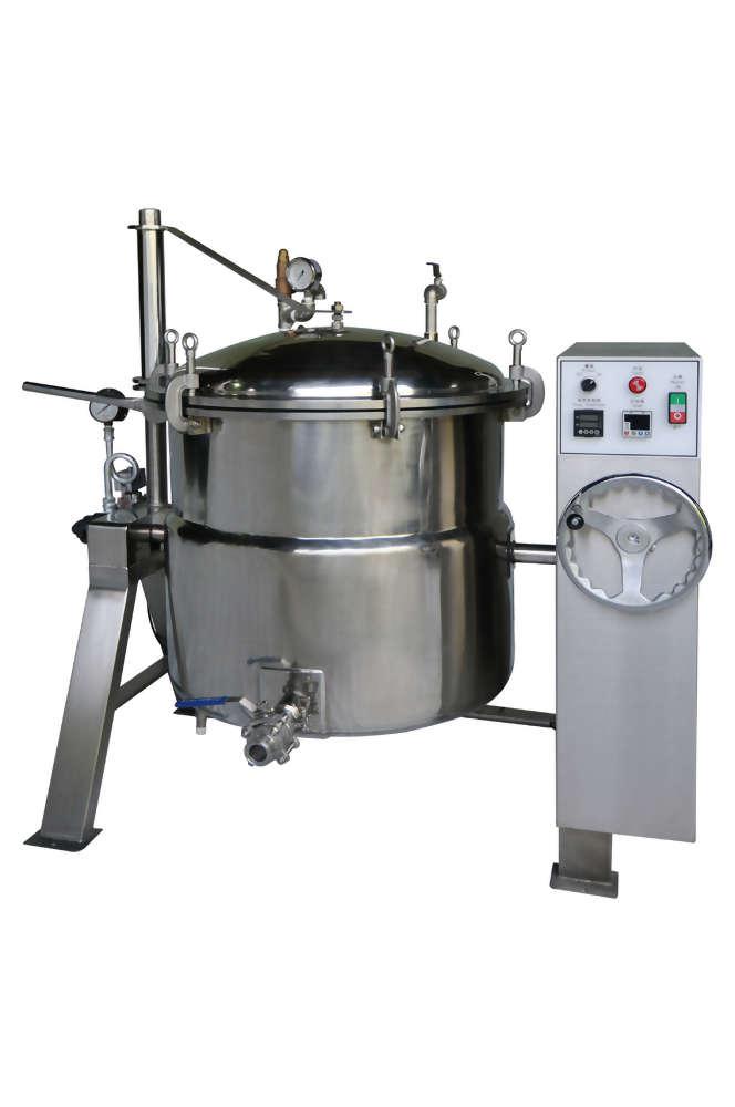 迴轉式蒸氣壓力鍋