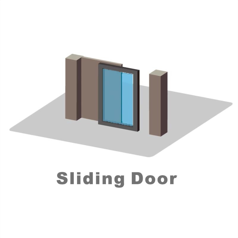 Automatic door system-sliding