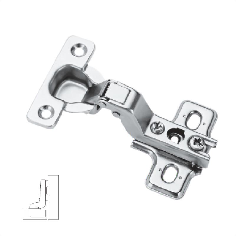26 mm Slide-on Hinge inset mounting