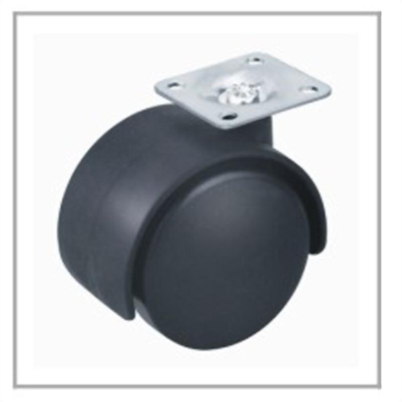 Nylon Caster with brake