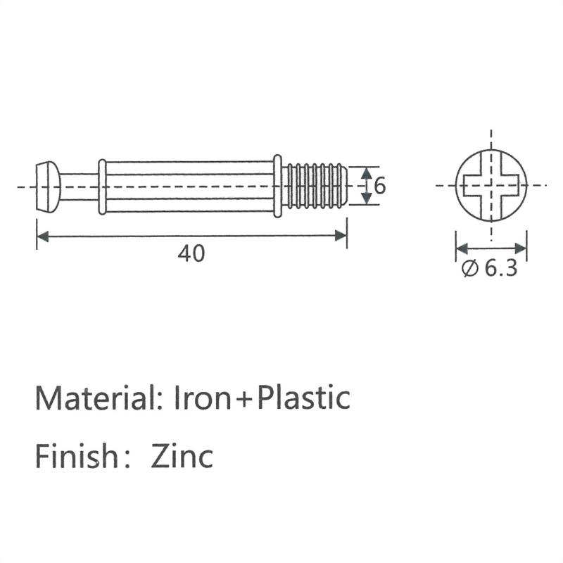 40 Plastic Coated Rod
