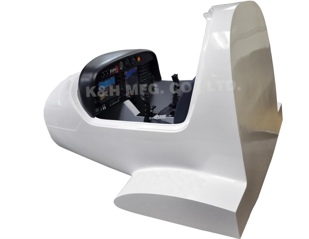 AT-F1003 Diamond DA40 Flight Simulator System con maqueta de fuselaje