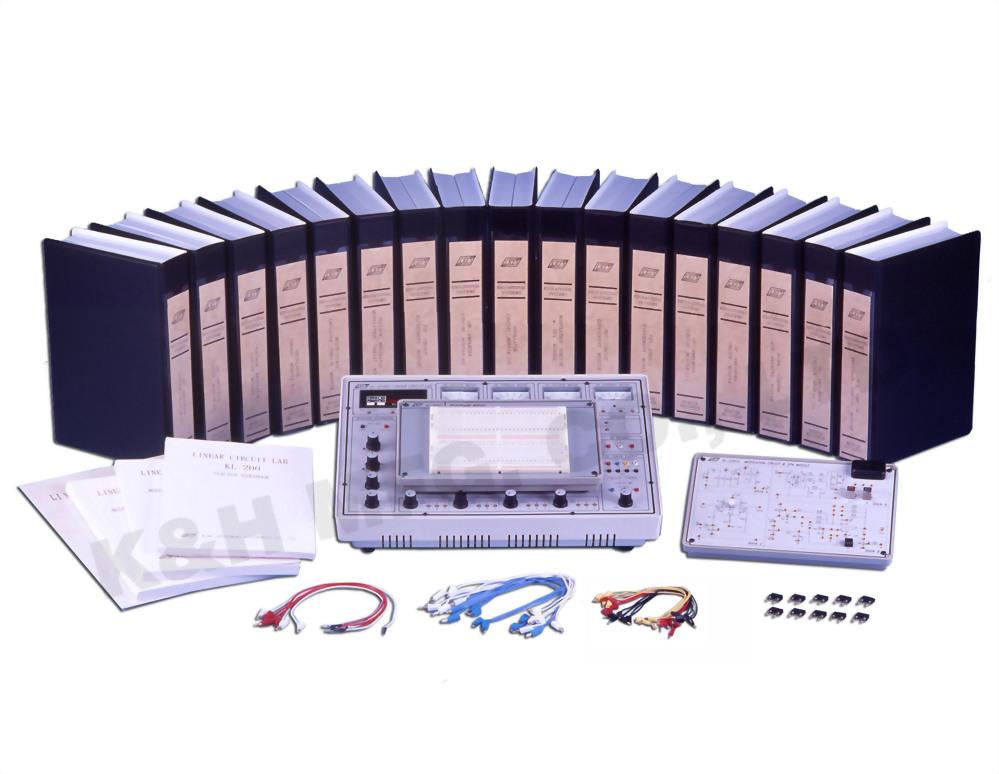 KL-200 Учебный стенд для изучения аналоговых электрических схем