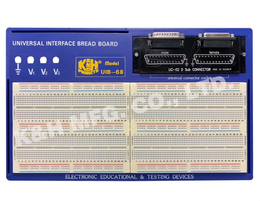 UIB Series Universal Interface Breadboard
