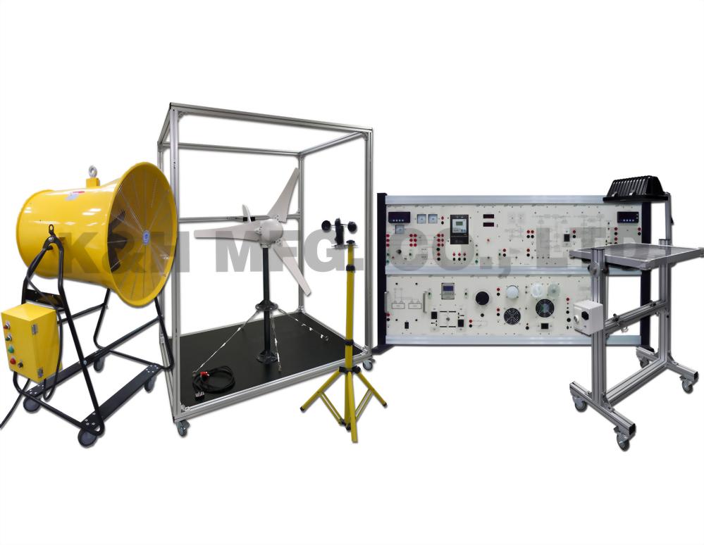 GES-500 Sistema Híbrido Eólico / Solar