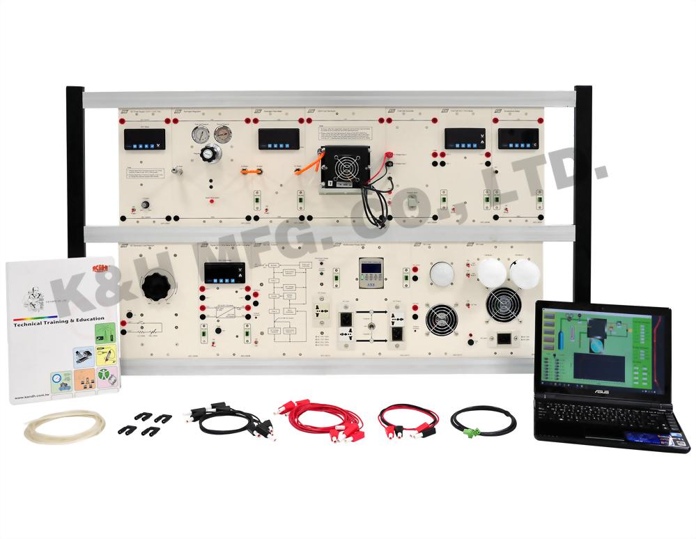 GFC-3100 Sistema de entrenamiento híbrido PEM Fuel Cell