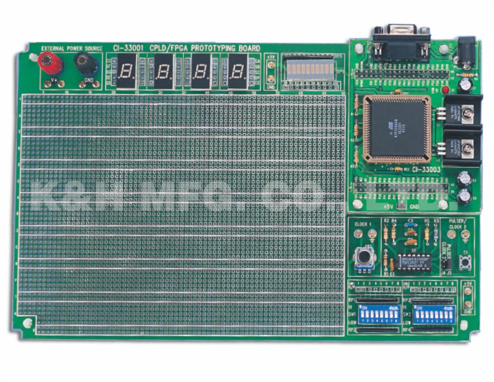 CI-33001C CPLD / FPGA Tablero de prototipos