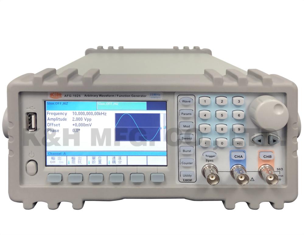 AFG-1025 Arbitrary Waveform/Function Generator