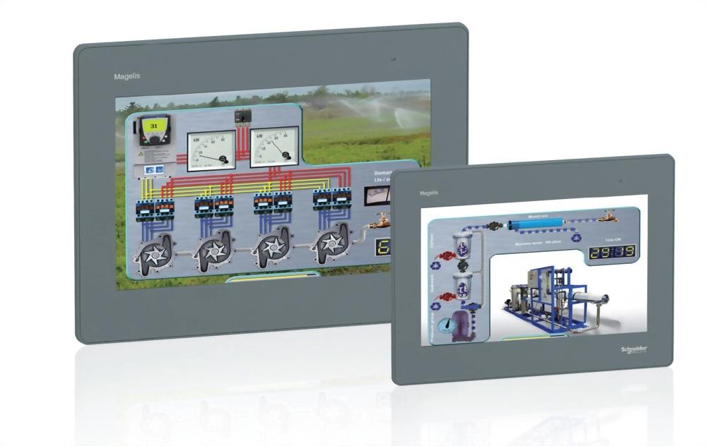 簡易型彩色 TFT LCD - Magelis GTO系列