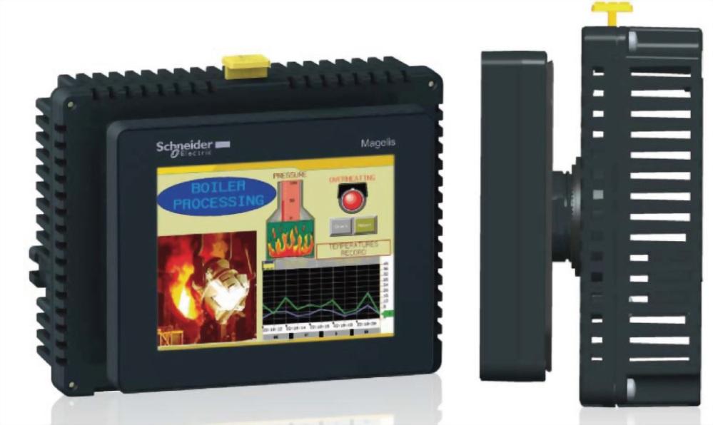 小型彩色 TFT LCD - Magelis HMISTU/SCU系列