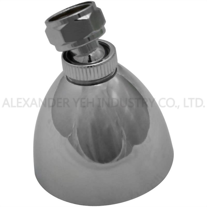 2-1/2 inch Zinc Shade type Showerhead