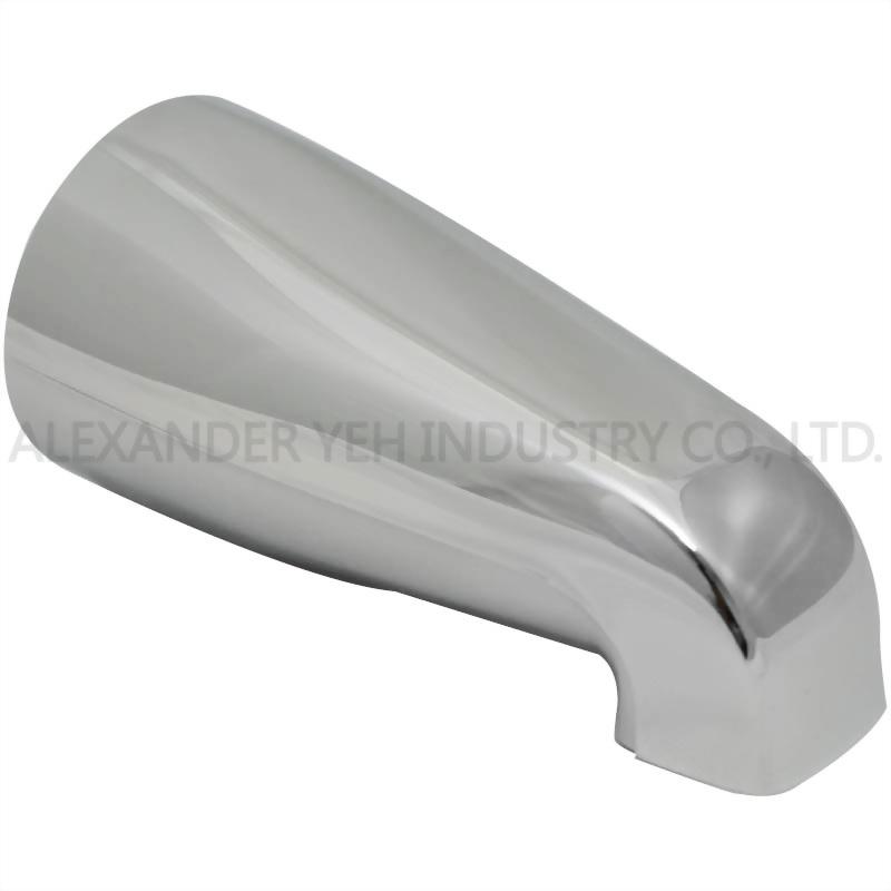 5-1/8 inch Plain Tub Spout 1/2