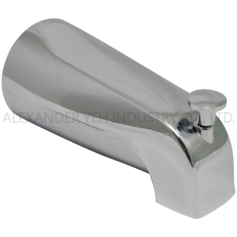5-3/8 inch Diverter Tub Spout 1/2