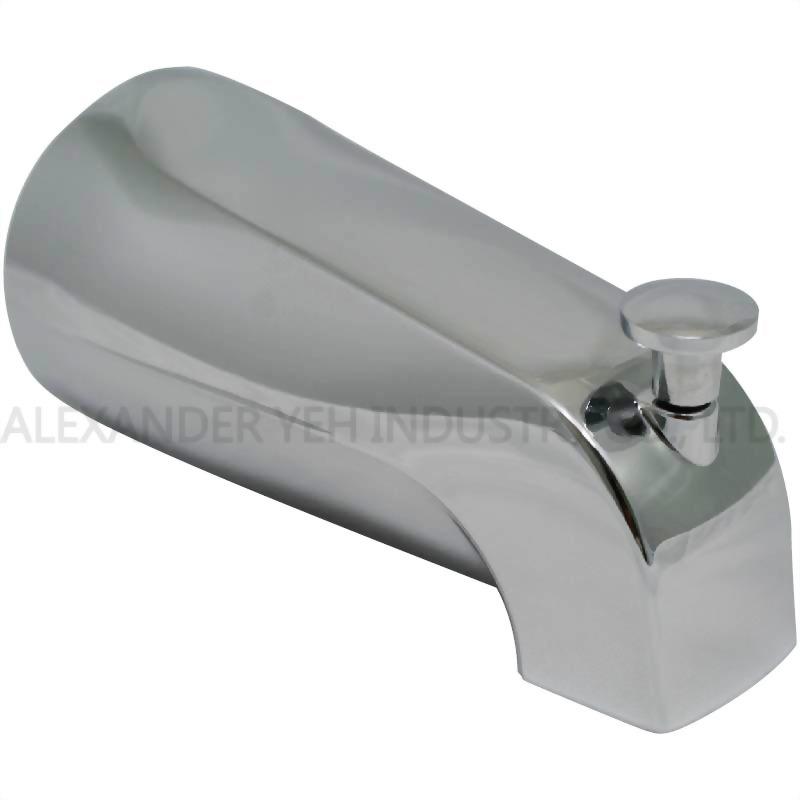5-3/8 inch Diverter Tub Spout