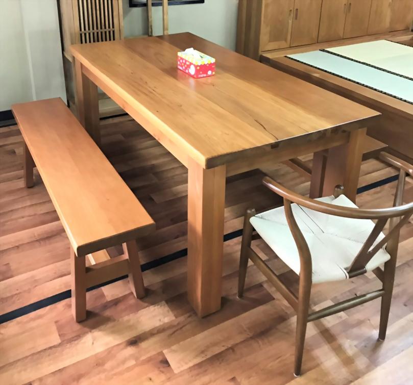 檜木制式化日式餐桌