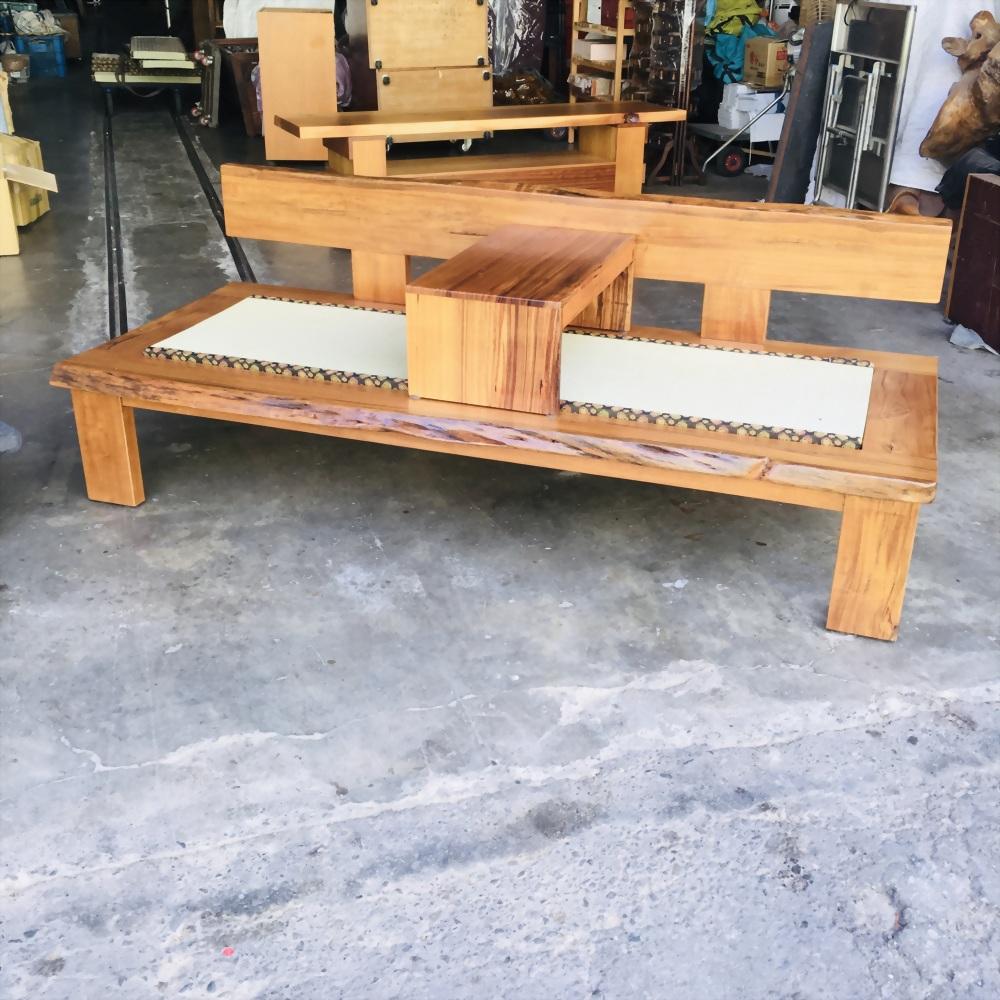 柚木羅漢椅
