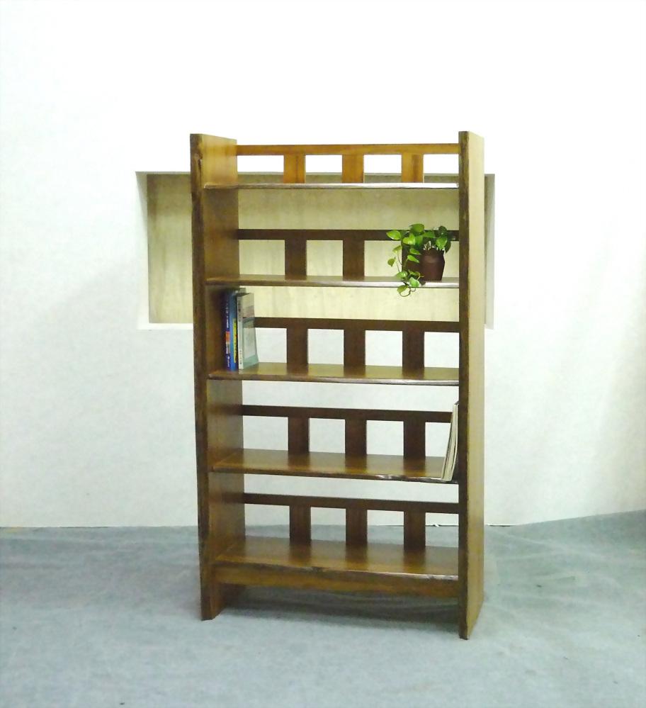 柚木五層置物櫃
