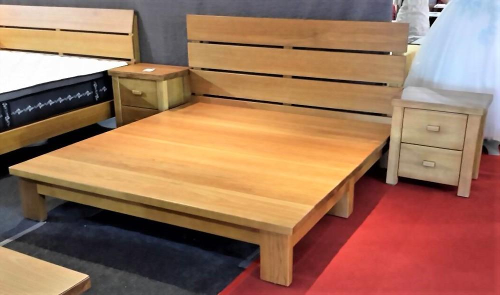 100%全原木(檜木整片板)床台