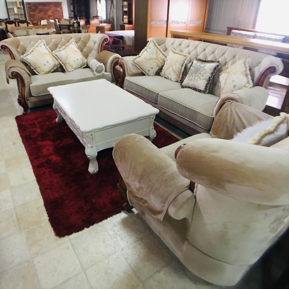 歐式1+2+3布沙發