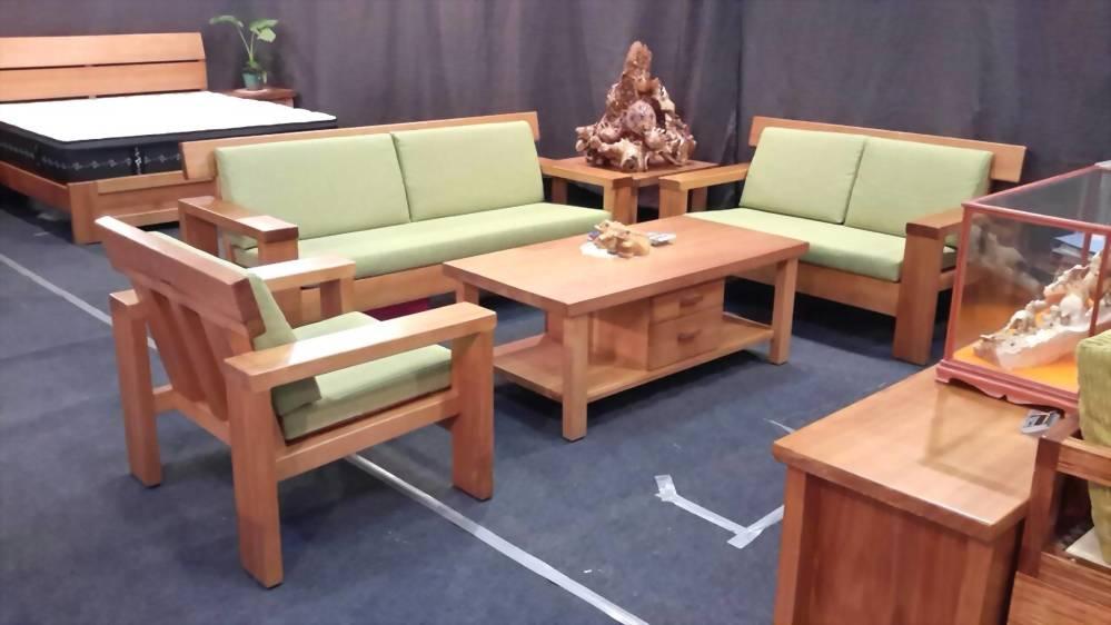 美檜 日式檜木沙發1+2+3