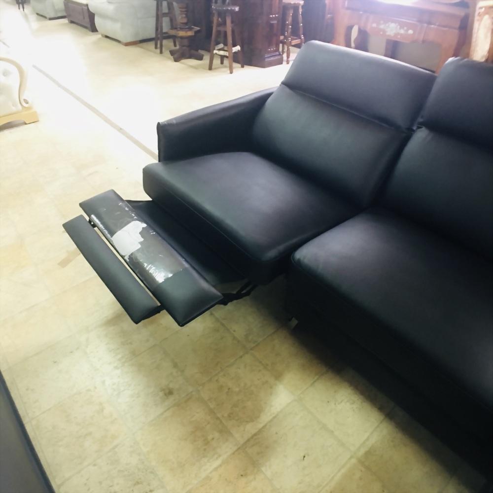 電動L型乳膠皮沙發
