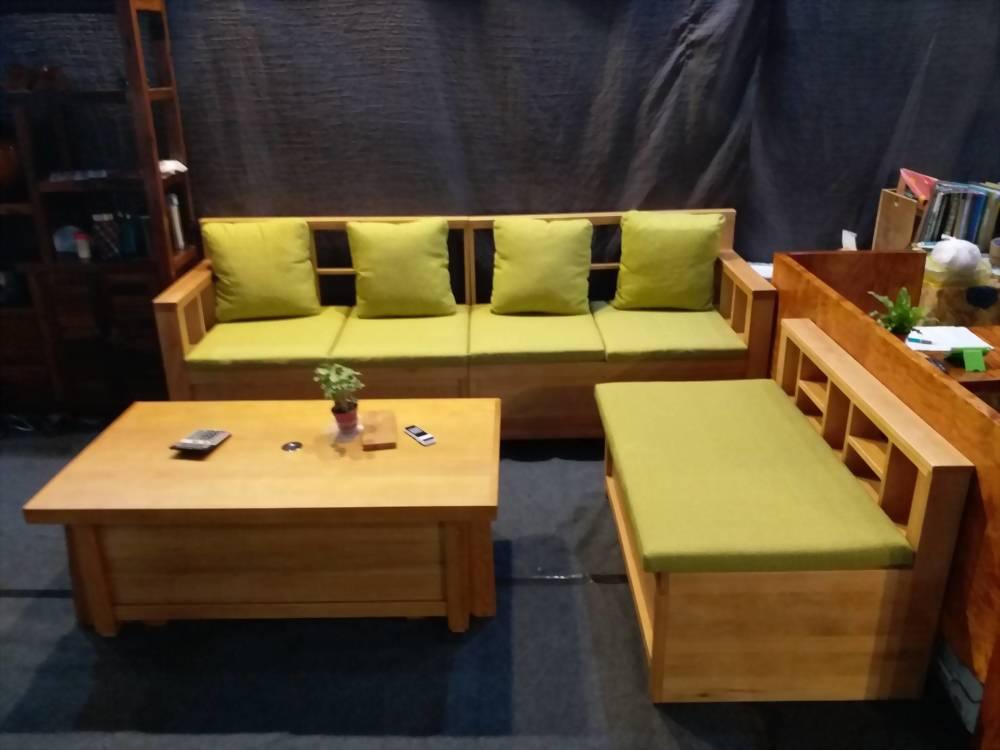 A32 美檜L型沙發