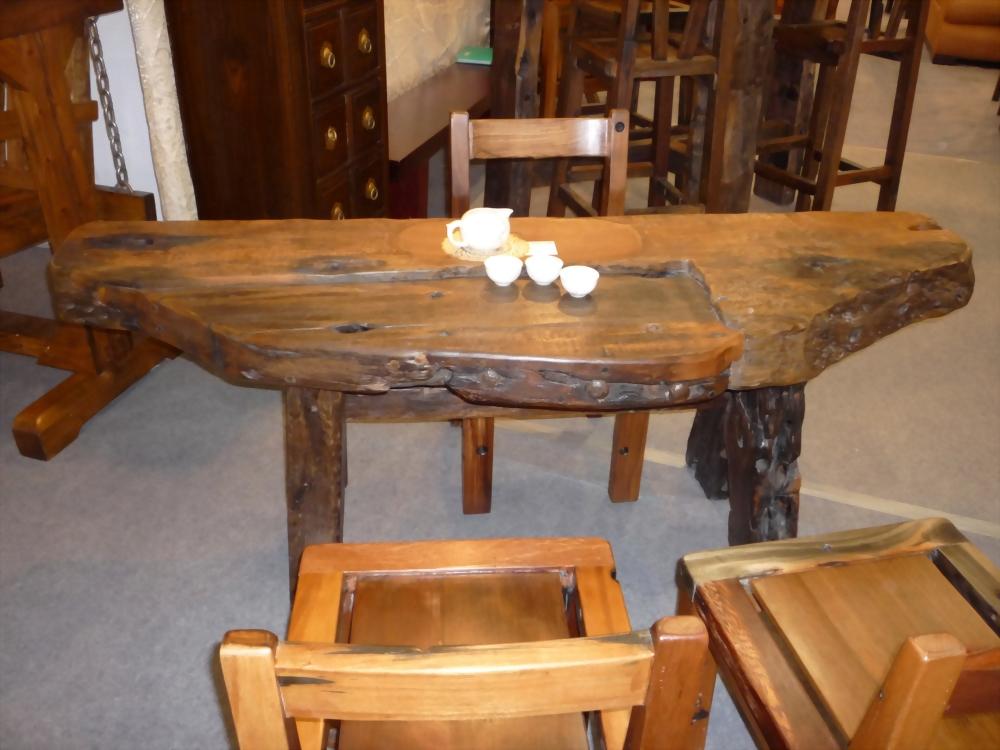 樟木泡茶桌