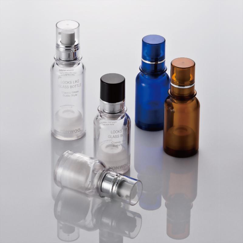QA進口仿玻璃真空瓶/ 形象與品質兼具的專業感