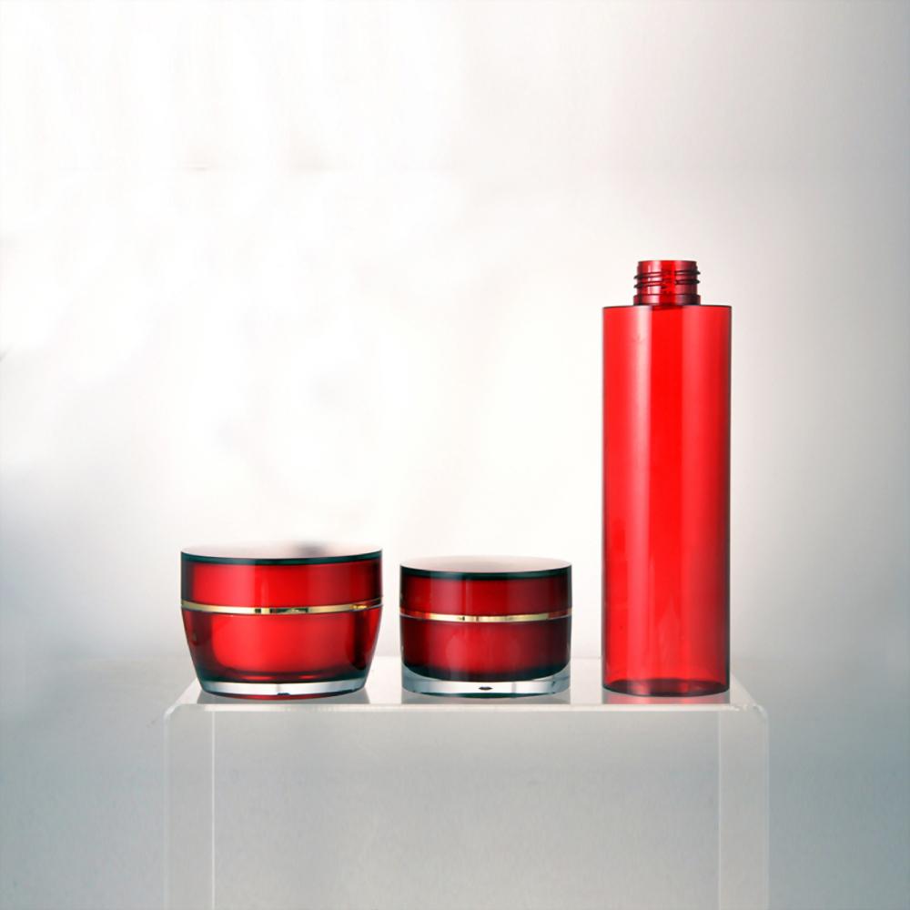 LA壓克力霜瓶 / 描繪出品牌的華麗貴氣