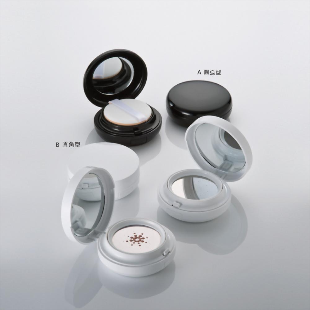 真空粉底盒/ 杜絕反覆污染的貼心設計