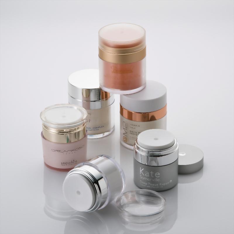 QA進口真空霜瓶/ 杜絕反覆汙染與空氣接觸的創新設計