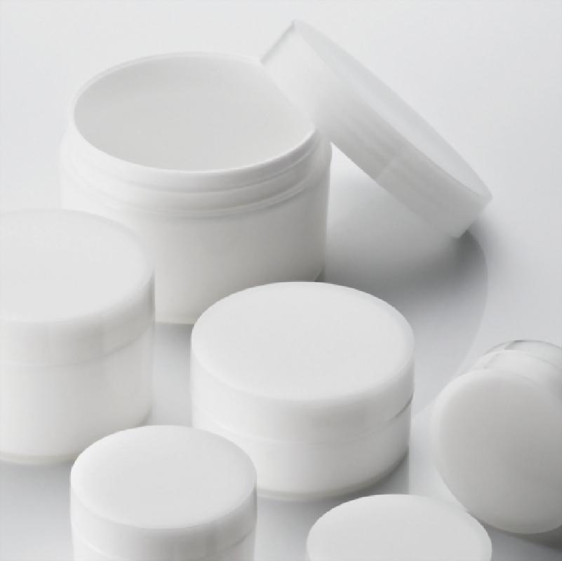 QS 圓直柱 雙層射出霜瓶 / 雙層渲染出層次的質感
