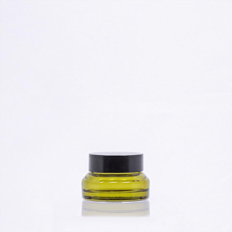 斜肩玻璃霜瓶-15ml