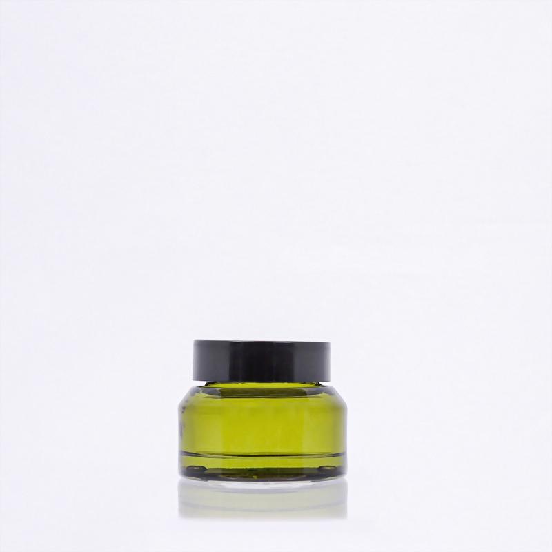 斜肩玻璃霜瓶-30ml