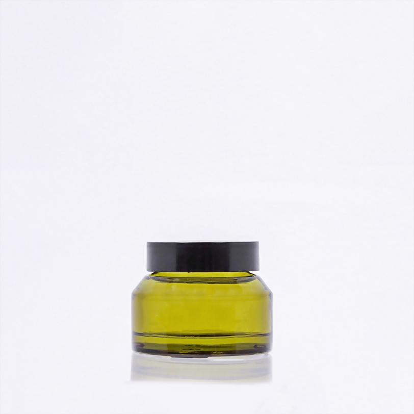 斜肩玻璃霜瓶-50ml