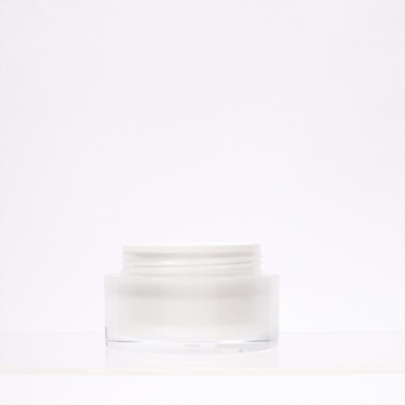 圓直柱壓克力霜瓶-50ml