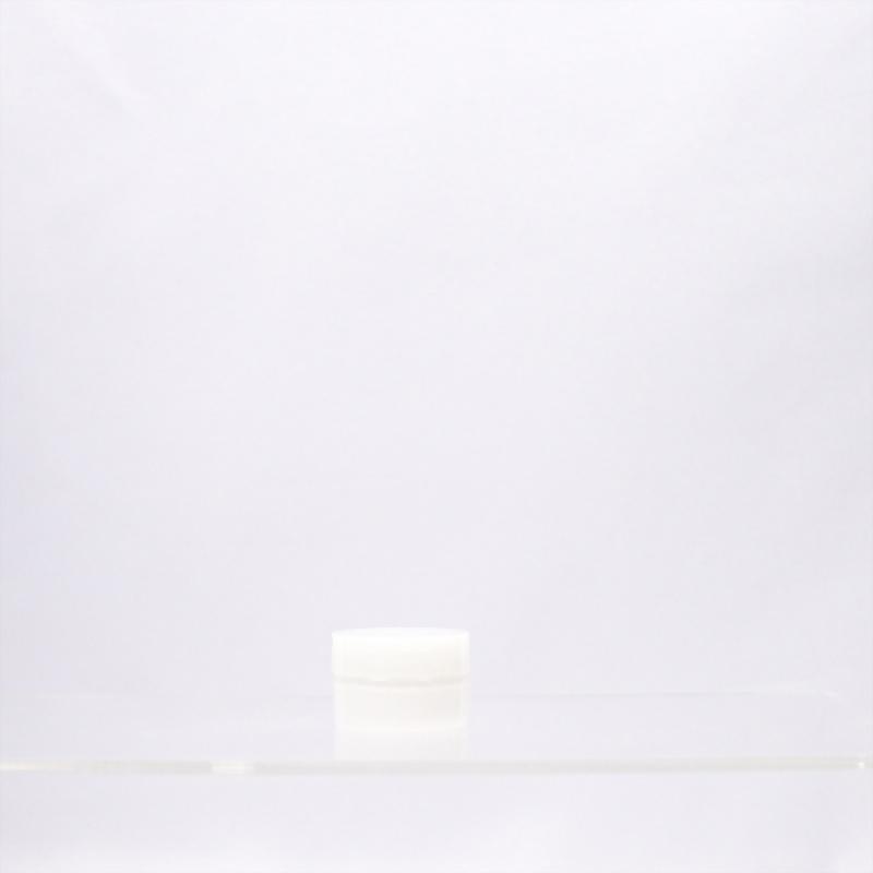 雙層射出霜瓶-圓直柱-10ml