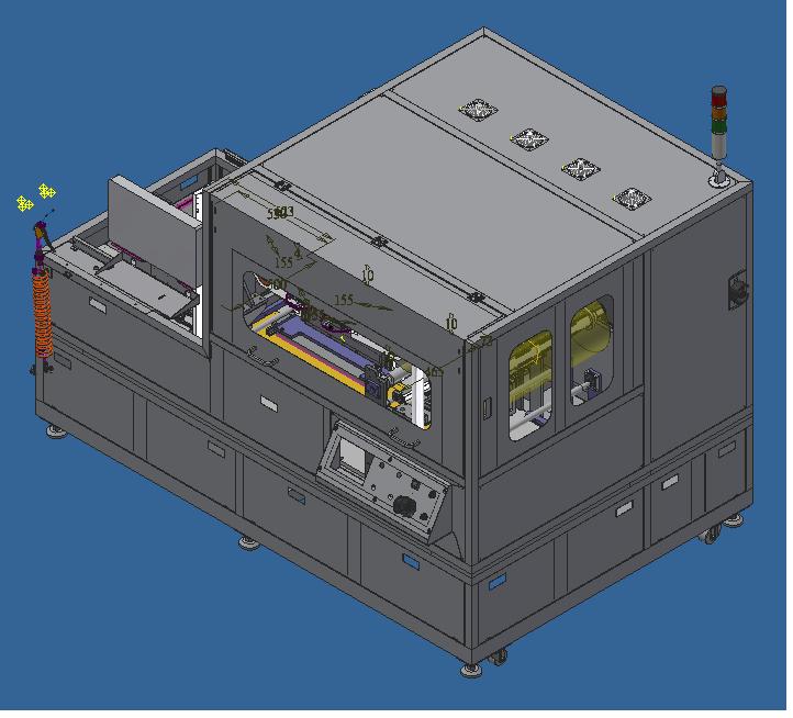 開蓋機  用於軟硬複合板 (新研發)