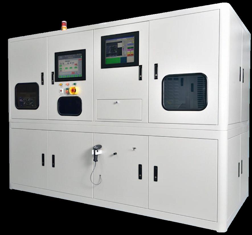 E&R L3600 Laser On Tray Marker Machine