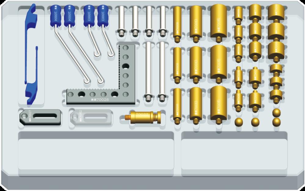 全閎彈性夾具系列固件A套裝48件(M4)